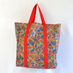 Bolso super florcitas multicolor