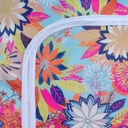 Mantel impermeable flores pop