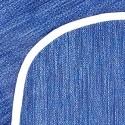 Mantel impermeable azul jean