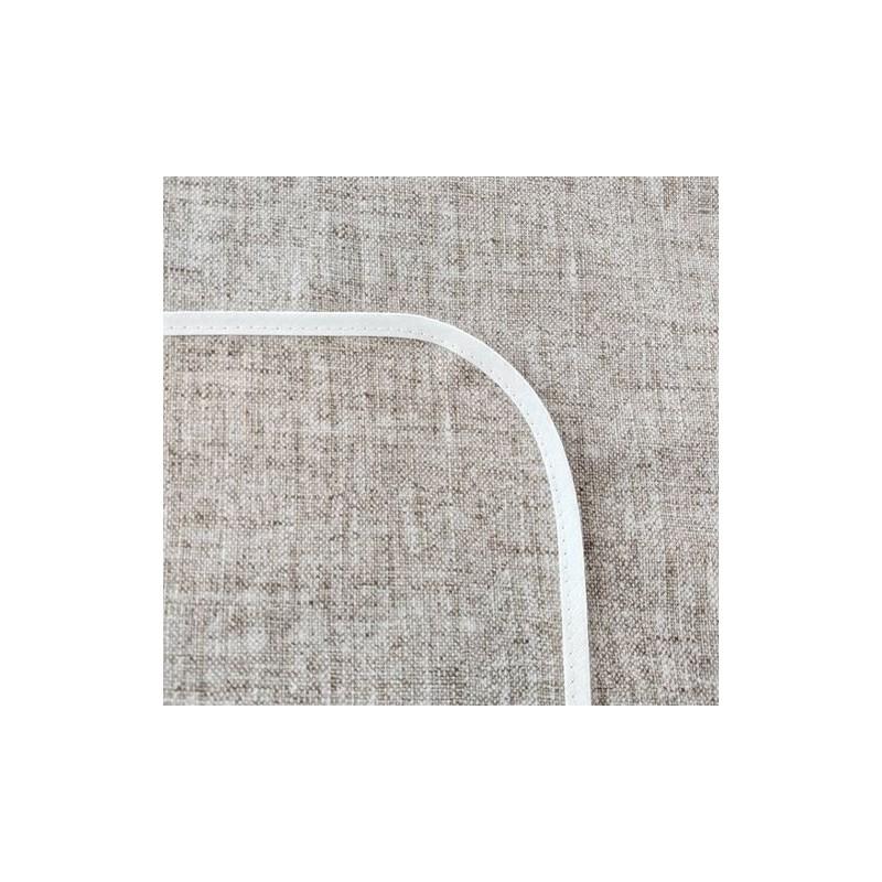 Mantel impermeable lino