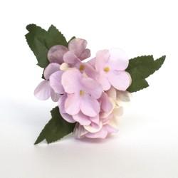 Servilletero hortensia lila