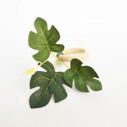 Servilletero hojas tupidas