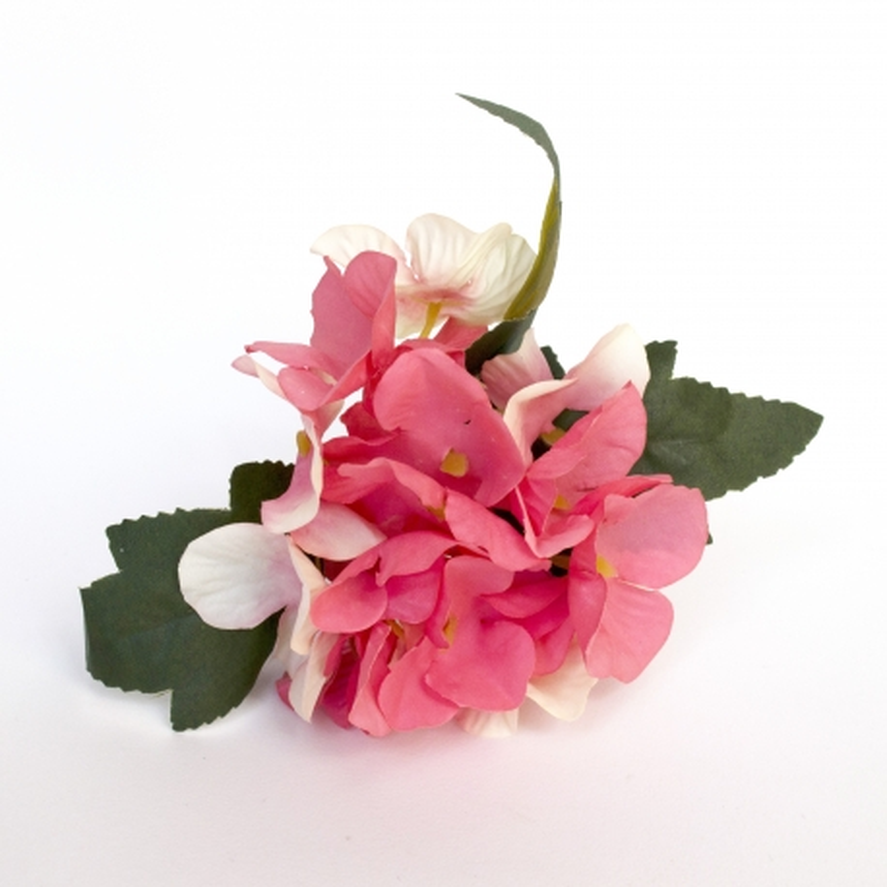 Pack 6x - Servilletero hortensia rosa