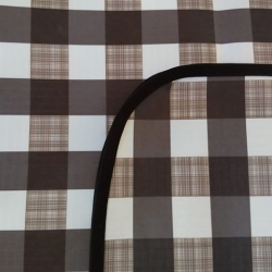Mantel impermeable Escoces Negro
