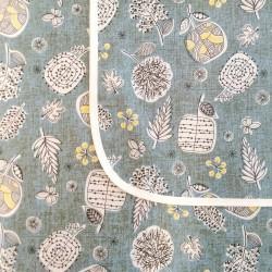 Mantel impermeable Dibujos Orientales Azul