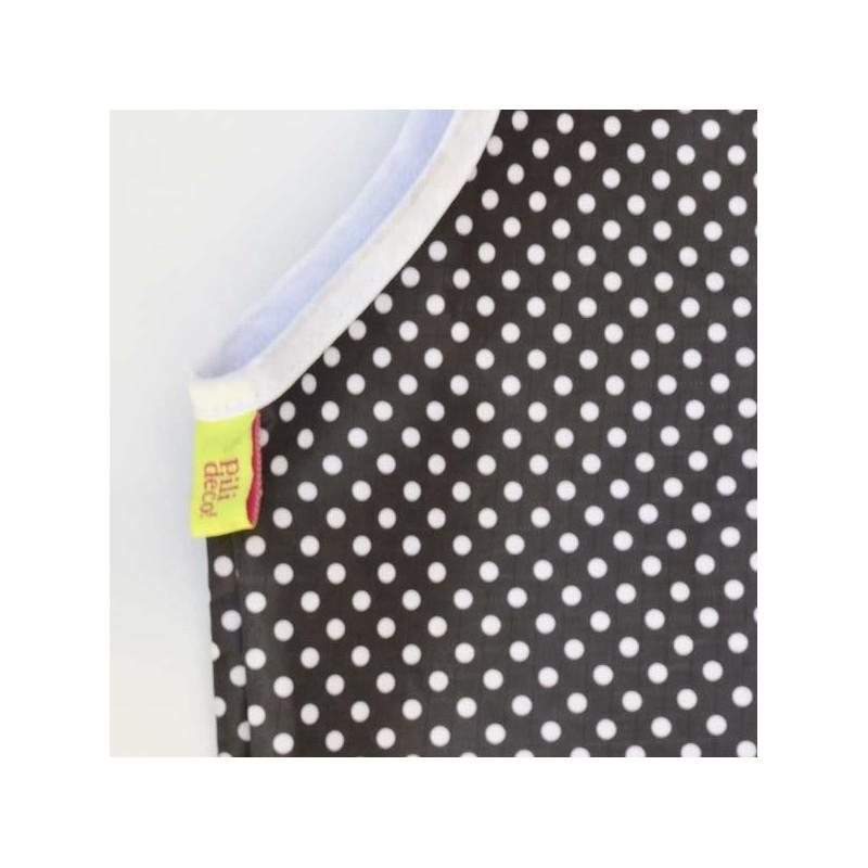 Pili Negro Y Blanco Multiuso Lunares bolso Deco rqx1Ar